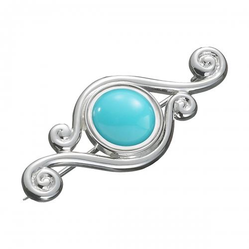 KAMELEON JewelPop 4 Swirls Silver Pin KPN2