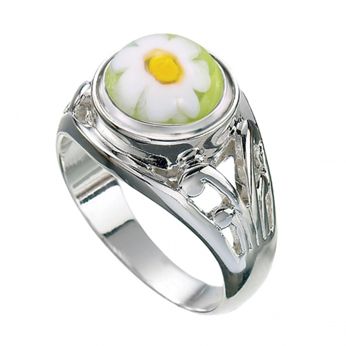 KAMELEON JewelPop Filigree Silver Ring KR7
