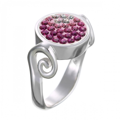 KAMELEON JewelPop Stylized Signature Series Silver Ring KR19