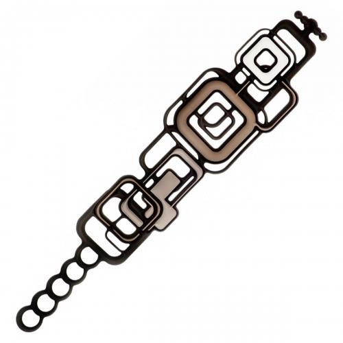 Batucada Skin Jewellery Black Pythagore Bracelet