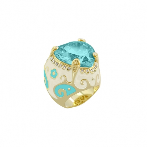 Lauren G AdamsTaupe Swirl and Heart Ring
