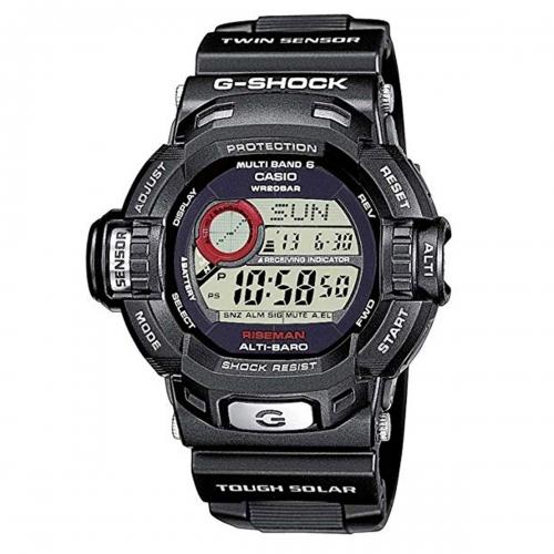 Casio G-Shock Riseman Alarm Chronograph Radio Controlled Watch GW-9200-1ER