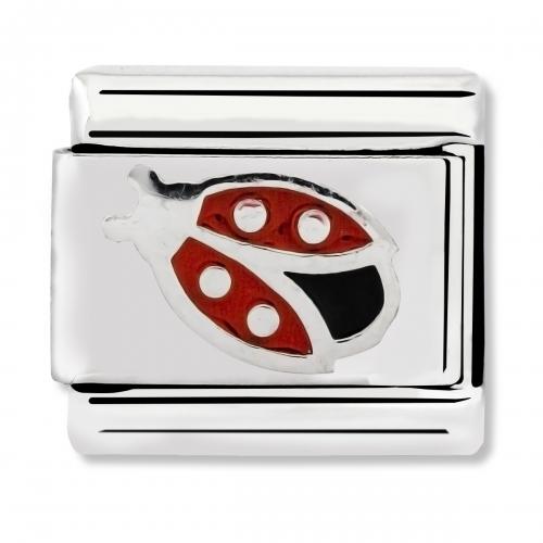 Nomination Classic Ladybird Enamel Link Charm