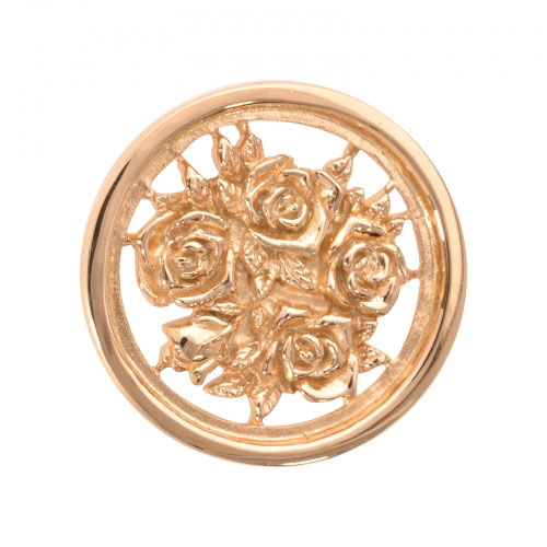 Nikki Lissoni For Someone Special - Small Gold Plated Coin