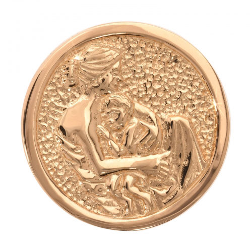 Nikki Lissoni Proud Mama - Medium Gold Plated Coin