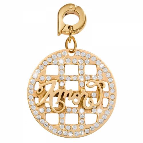Nikki Lissoni 'Amor' - Large Gold Plated Dangle Charm