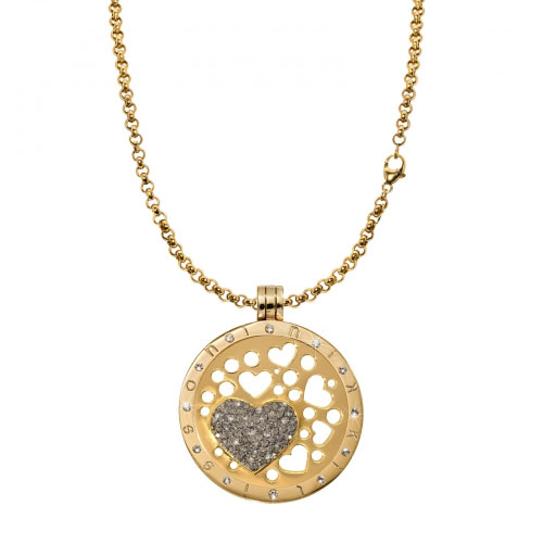 Nikki Lissoni Medium Catch My Heart Necklace Set