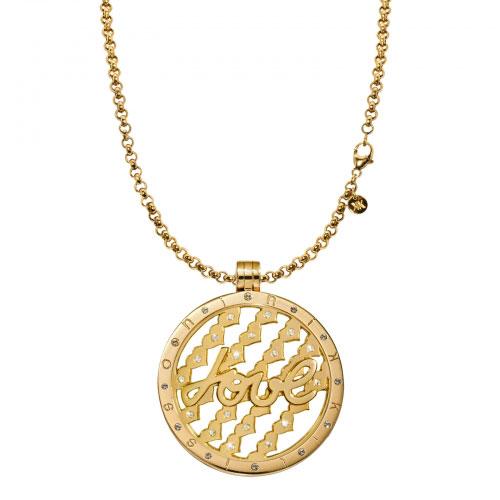 Nikki Lissoni Large Tribute To Love Necklace Set