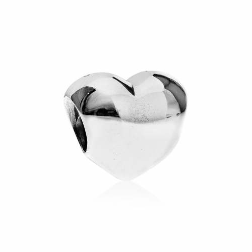 Pandora Silver Sterling Heart Charm 790137