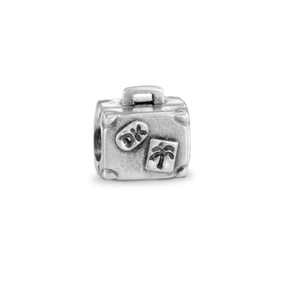 Pandora Suitcase Silver Charm 790362