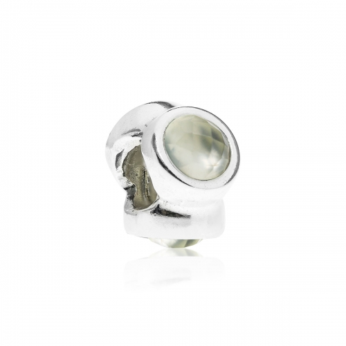 Pandora Natural Light Silver & Prehnite Charm 790351PR