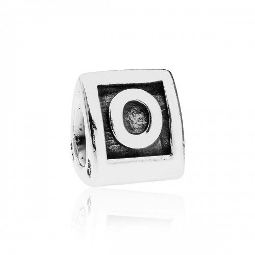 Pandora Alpha O Silver Initial Charm 790323O