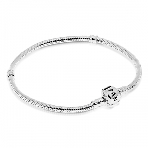 Pandora Silver Bracelet With Barrel Clasp 590702HV