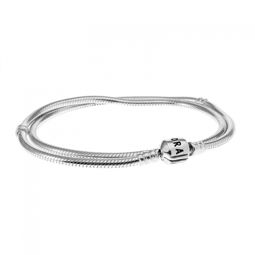 Pandora Silver 50cm Necklace With Barrel Clasp 590702HV