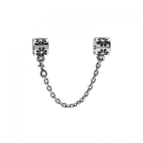 Pandora Flower Silver Safety Chain 790385-04