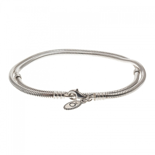 Pandora Silver Necklace With Lobster Clasp 590700HV Various Sizes 40, 45 & 50cm