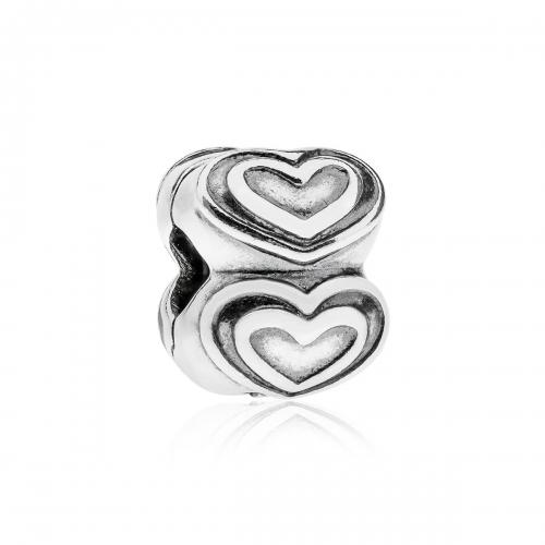 Pandora Heart Silver Clip 790959