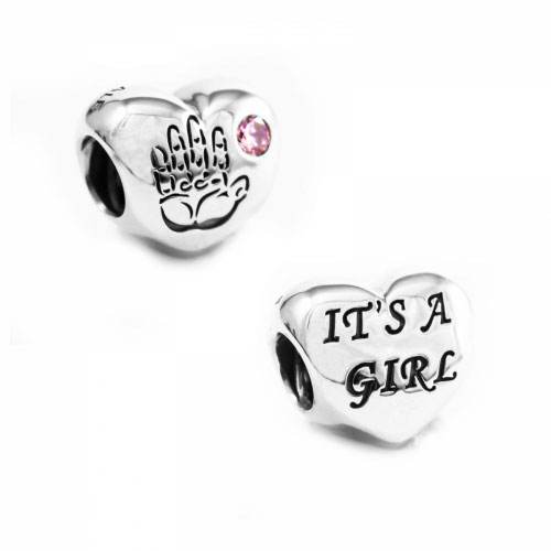 Pandora Silver Baby Girl Charm 791280pcz Pandora Silver