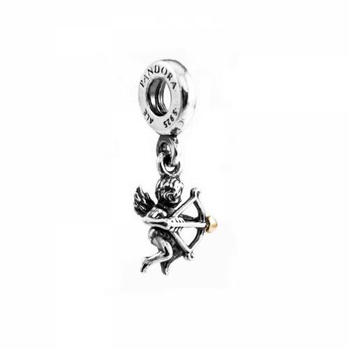 Pandora Silver Cupid Pendant Charm 791251