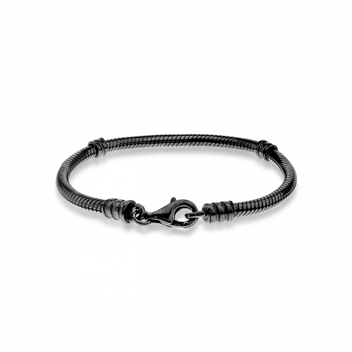 Ex Display: Pandora Oxidised Silver 16cm Children's Starter Bracelet 590700OX-16 - NO TAG