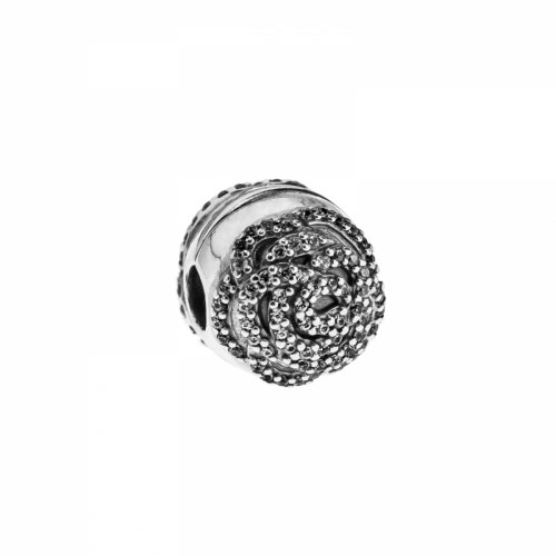 Pandora Shimmering Rose Silver & Clear CZ Clip 791529CZ