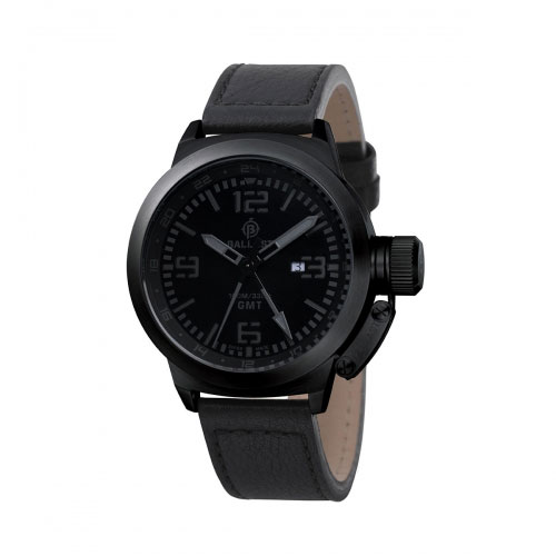 Ballast Black Trafalgar Analogue Watch
