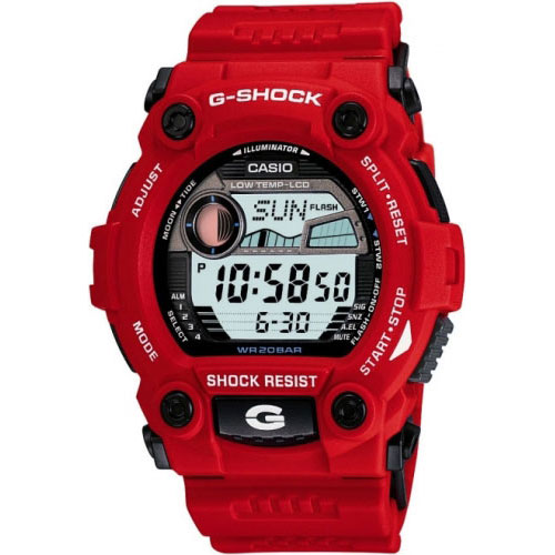 Casio G- Shock G-Rescue Men's Red Digital Watch G-7900A-4ER