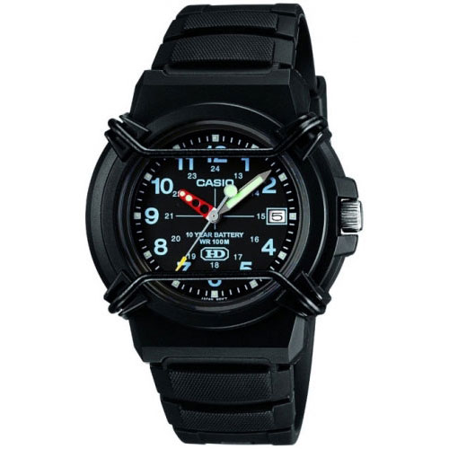 Casio Heavy Duty Neobrite Men's Black Watch HDA-600B-1BVEF