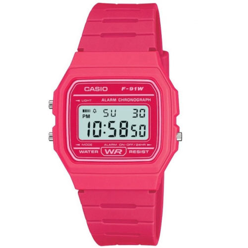Casio Pink Digital Ladies Watch