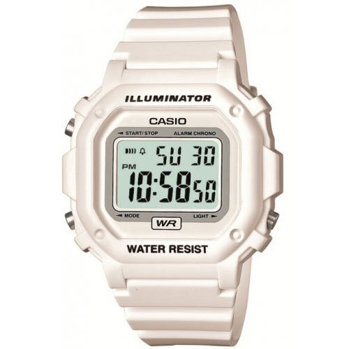 Casio Illuminator White Gloss Watch