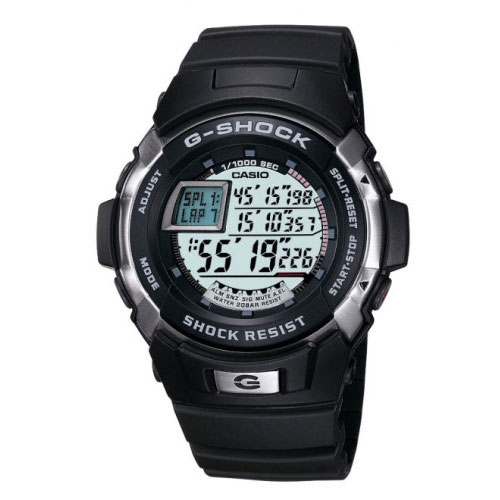 Casio G-Shock LED Display Rubber Watch