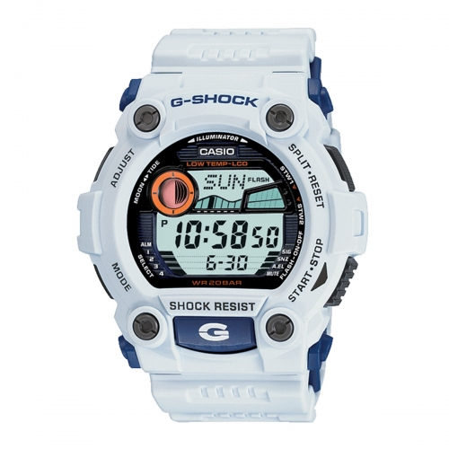 Casio G-Shock G-Rescue Men's White Alarm Chronograph Watch G-7900A-7ER