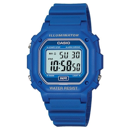 Casio Blue Illuminator Watch