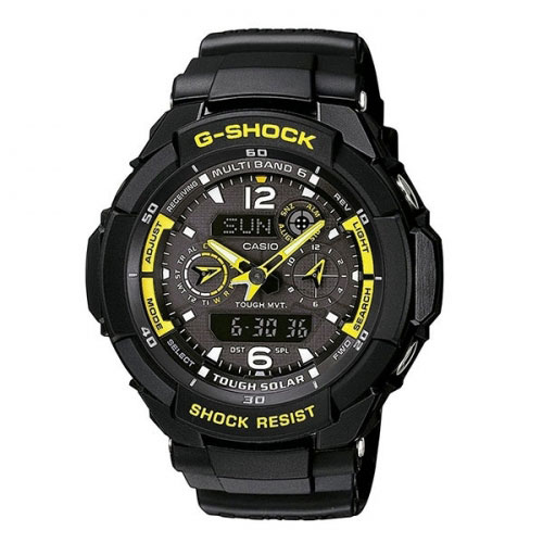 Casio G-Shock Radio Controlled Gravity Watch