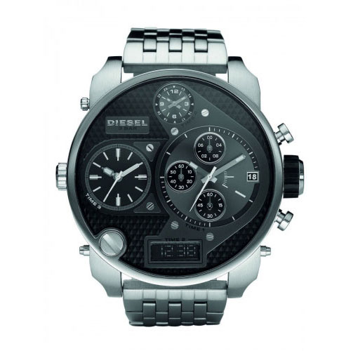 Diesel Silver Big Daddy Watch