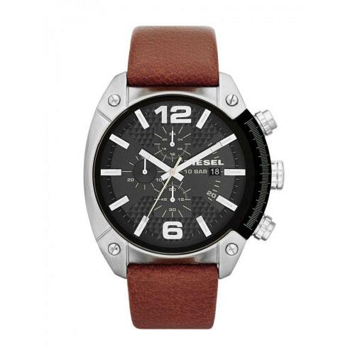Diesel Brown Overflow Chronograph Watch