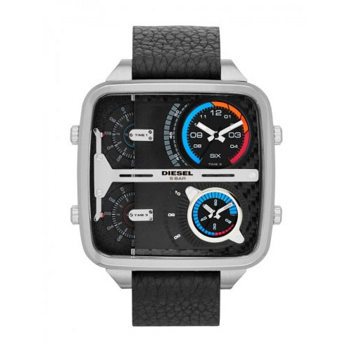 Diesel Square Daddy Watch