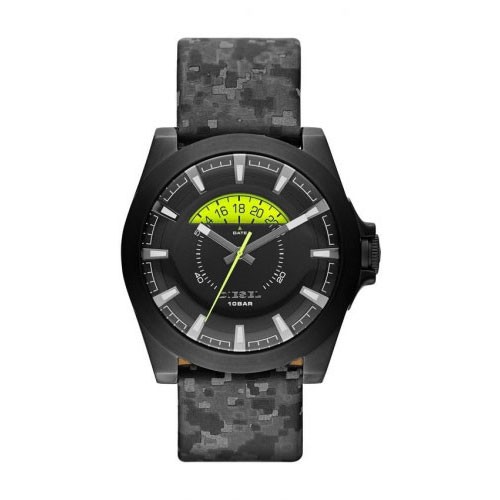Diesel Camo and Black Arges Watch