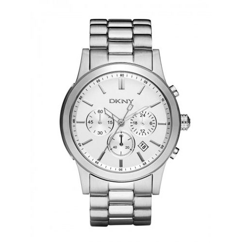 DKNY Chambers Men's Silver Chronograph Watch NY1471