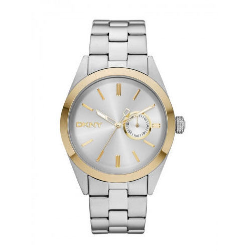 DKNY DKNY Nolita Men's Silver & Gold Watch NY1531