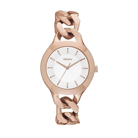 DKNY Chambers Ladies Rose Gold Watch NY2218