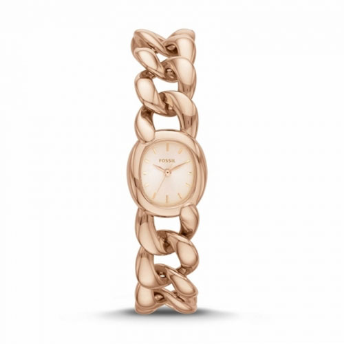 Fossil Curator Ladies Rose Gold Watch ES3459