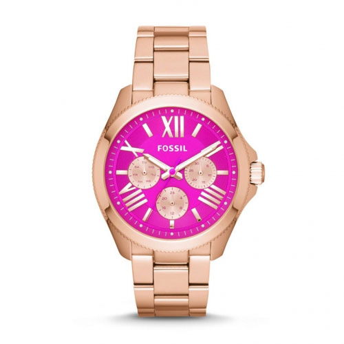 Fossil Cecile Rose And Pink Watch
