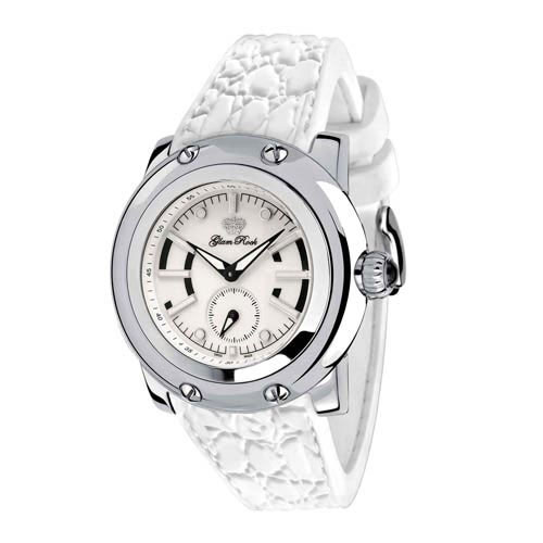 Glam Rock Palm Beach White Ladies Watch