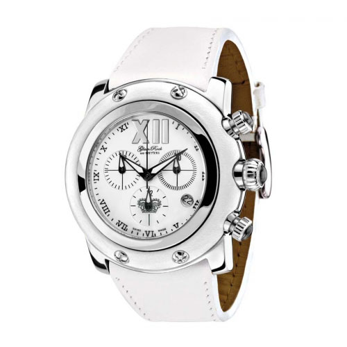 Glam Rock Miami White Chronograph Watch
