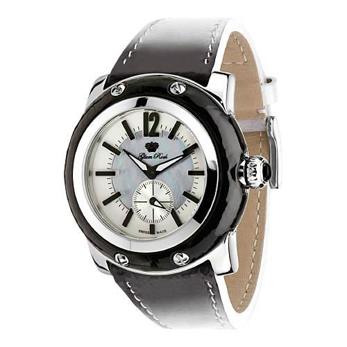 Glam Rock Miami Leather Watch