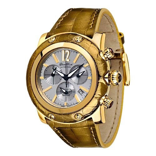 Glam Rock Gold Miami Chronograph Watch