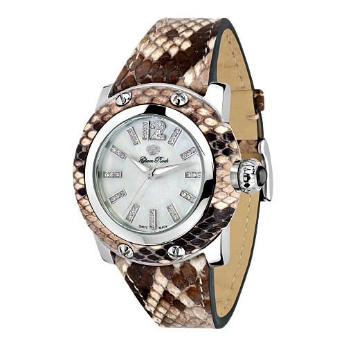 Glam Rock Palm Beach Python Ladies Watch