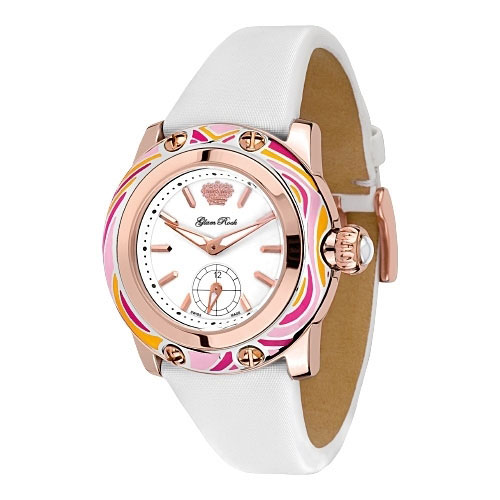Glam Rock Pink Smalto Watch