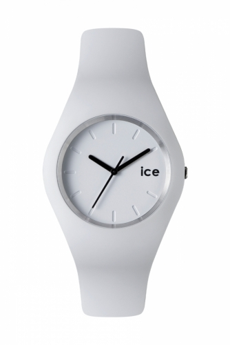 Unisex White Watch with Black Detail